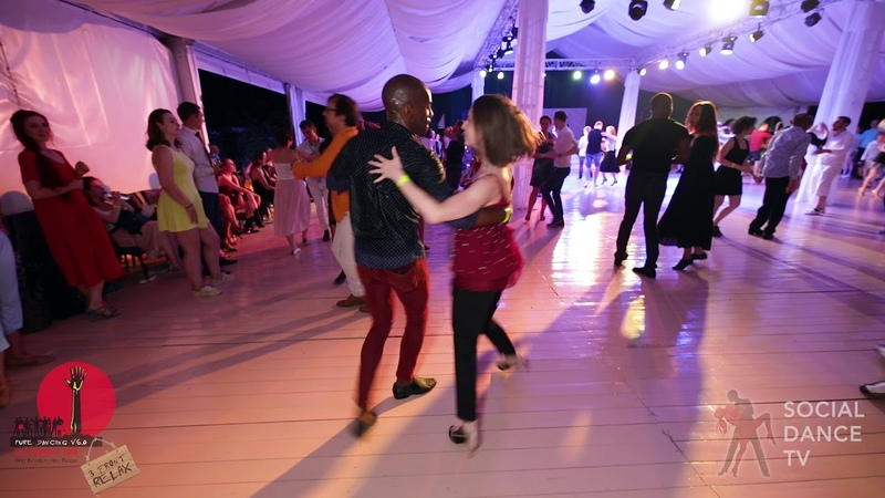 Didier Lilia - Salsa social dancing at the 2018 The Third Front Salsa Festival