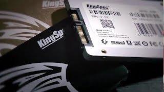 Быстрые Жесткие диски для ноутбуков! SSD 2.5 SATA 3 от KingSpec - YouTube