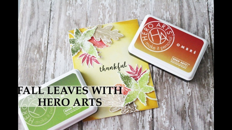 Fall Leaves With Hero Arts