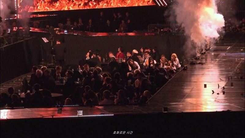 190115 서울가요대상 위험했던 폭죽 가수석 세븐틴 - BTS Fake Love SEVENTEEN 직캠