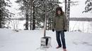 Печка для мобильных походных бань СИБТЕРМО (дровяная)