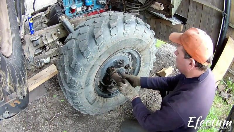 Ремонт переднего моста ГАЗ-66. Часть-1. Сборка редуктора.