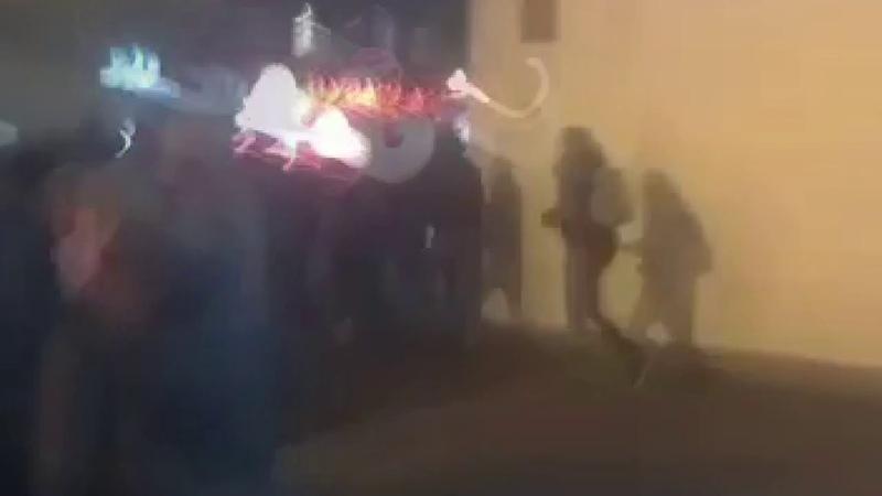 У Києві на Хрещатику сталася масова бійка відео