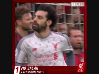 Mo Salah likes to multitask