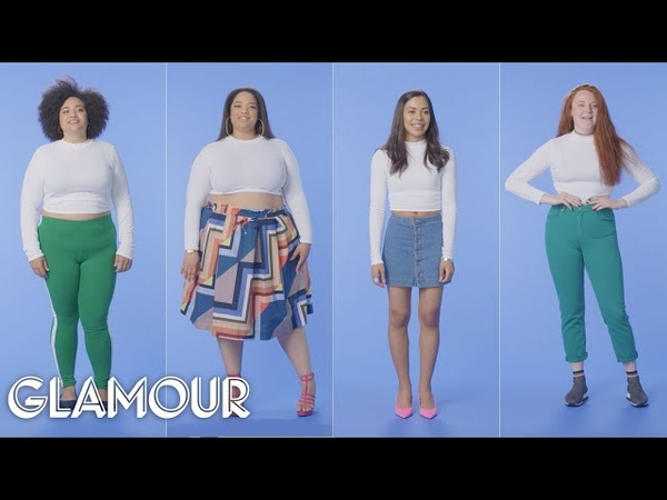 Women Sizes 0 Through 28 Try on the Same Crop Top   Glamour