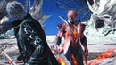 Devil May Cry 5 Bullying Vergil Dante Must Die No Damage SSS Rank PS4 PRO