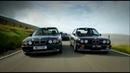 Top Gear BMW M5 е34 vs BMW M3 е30 на русском