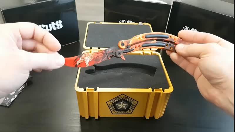 DreadCraftStation 3 серия Настоящий Нож- Бабочка в Реальном Кейсе Из CS:GO
