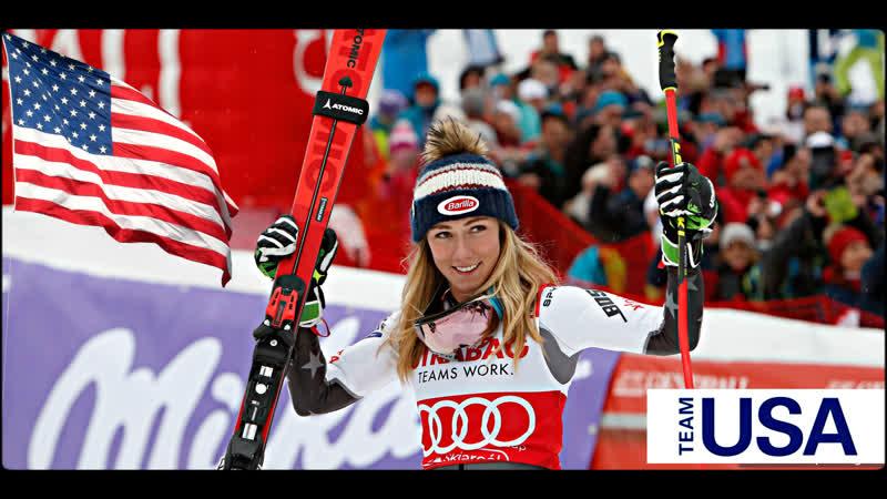 Mikaela Shiffrin World Cup team USA