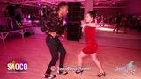Alain Rueda and Katerina Mik Salsa Dancing at Rostov For Fun Fest 2018, Sunday 04.11.2018