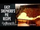 THE BEST HOMEMADE SHEPHERD's pie-easy simple | SHEPHERD'S PIE RECIPE Chef Ricardo