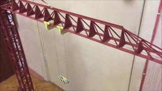 Модель башенного крана КБ 674 | Model | Tower crane