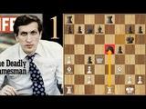 Outclassed! - Legendary Streak Continues Fischer vs Larsen (1971) Game 1