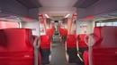Austria, Vienna, S-Bahn ride from Wien Traisengasse to Floridsdorf