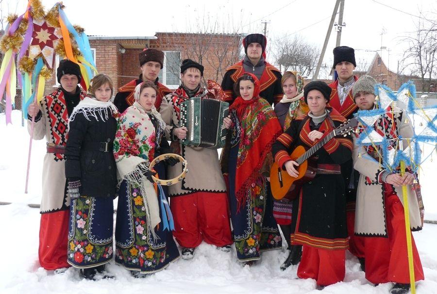 В Лисичанске встретили Рождество вертепной ходой