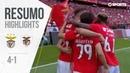 Highlights | Resumo: Benfica 4-1 Santa Clara (Liga 18/19 34)