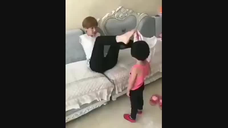 Что может настоящая любовь мамы к своим детям!