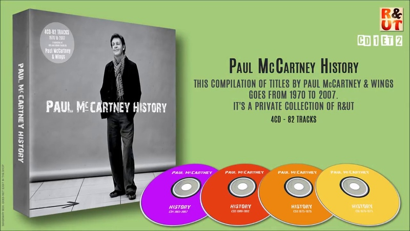 PAUL MCCARTNEY HISTORY - CD 12 [1970/1979] - Unreleased Album By RUT