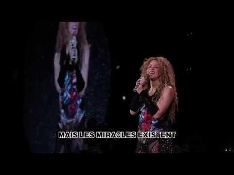Shakira in Paris El Dorado World Tour speech