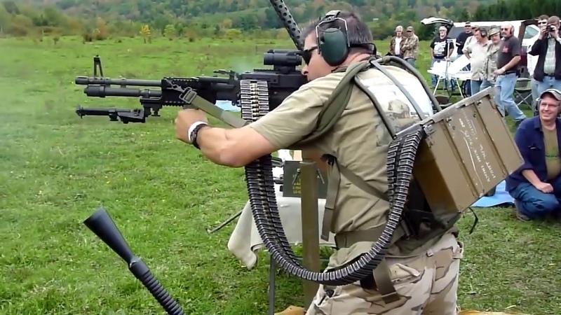 Пулемет стрельба стоя, США vs России USA vs Russia