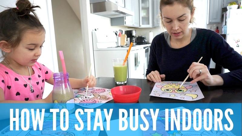INDOOR ACTIVITIES for KIDS in WINTER   AmandaMuse