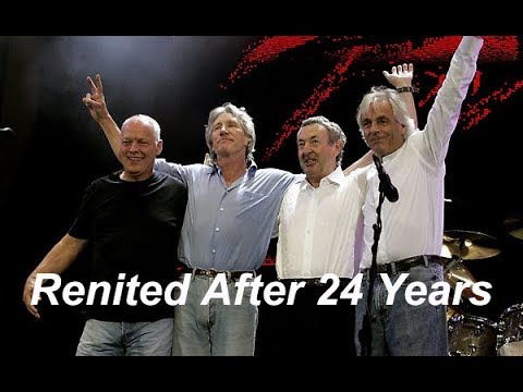 Pink Floyd How they Reunited After 24 Years Rehearsal Live 8 2005