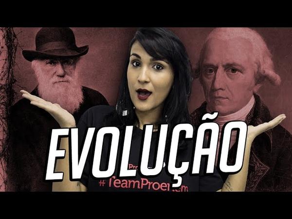 Evolução (Darwin x Lamarck) - Biologia no Enem - Prof. Zazá