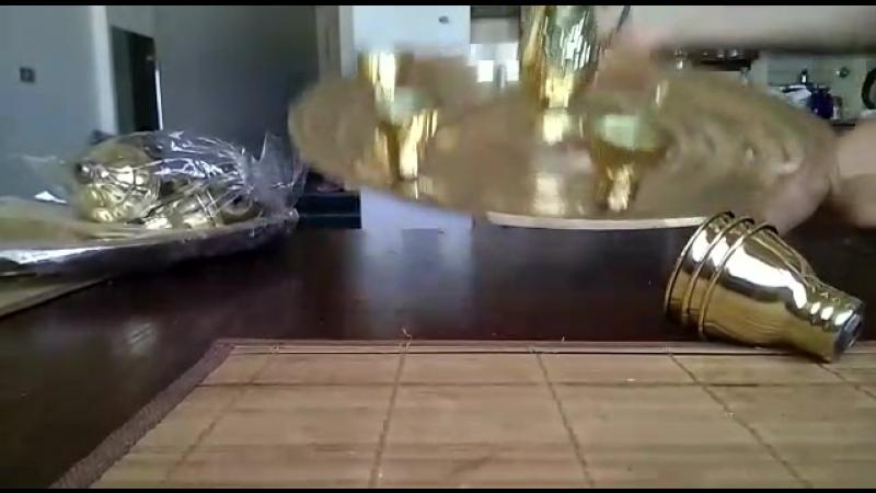 Поднос одноярусный для беллиданса Single floor bellydance tray