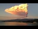 В последнее время произошли извержения вулкана, в Италии ЭТНА и в Индонезии КРАКАТАУ