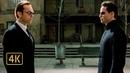 Удивляет наша встреча Диалог Нео и Смита Смит пытается превратить Нео в себя Матрица