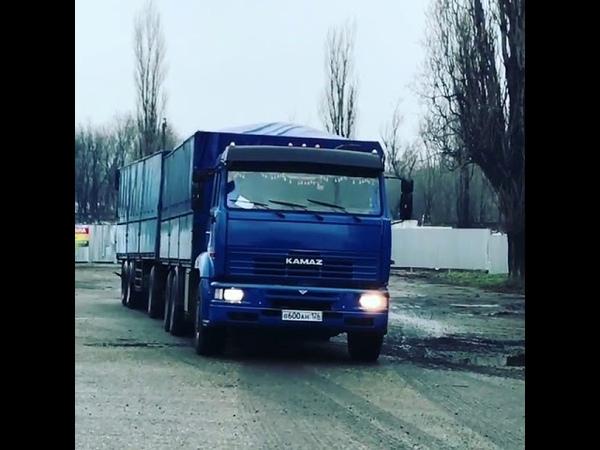 КамАЗ 65117 Щука (Зерновоз)