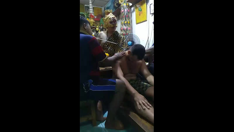 Магическое тату от медиума отшельника лесов тайланд сакянт сакянттату татуровка таиланд
