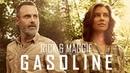 Rick Grimes Maggie Rhee Tribute || Gasoline