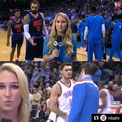 "House of Highlights on Instagram: ""Steven Adams misses Nick Collison. 🤣🤣🤣 (via @nbatv)"""