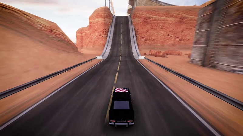 TrackMania United Physics in TrackMania One Speed