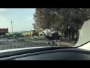 В Краснодарском крае сгорели три грузовика и легковая машина