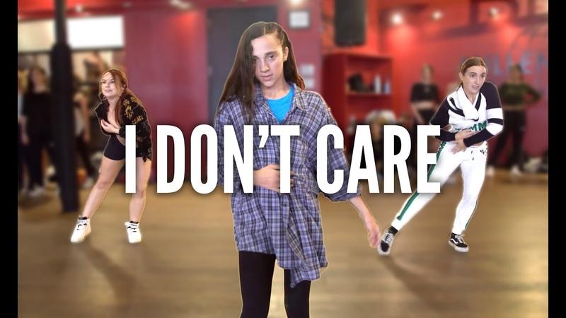 ED SHEERAN JUSTIN BIEBER - I Dont Care | Kyle Hanagami Choreographer