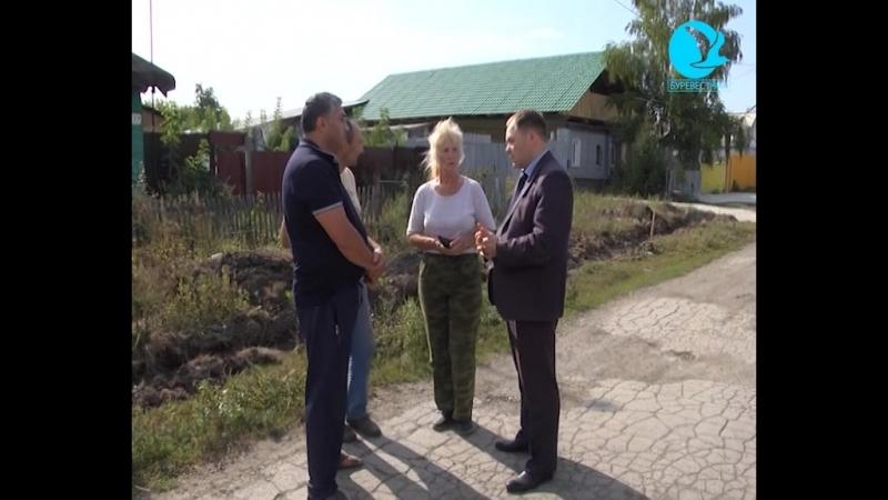 Про газификацию Владимирского посёлка эфир 07 09 2018