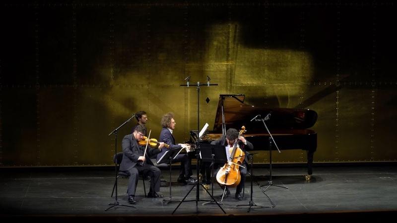 Lucas Debargue. Trio pour violon, violoncelle et piano (2016/2019)