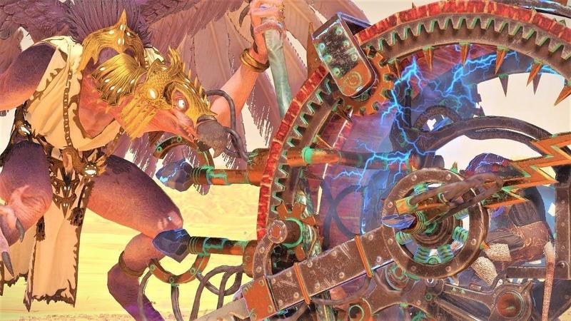 TW WARHAMMER II Warriors of Chaos vs Skaven