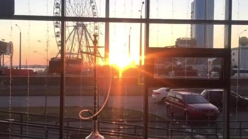 Приходите любоваться закатом🌄 в City Lounge😉 🇷🇺Казань улица Сибгата Хакима 40а ☎️Тел 216 36 74 ⏰С 14 00 02 00 без выходных Г