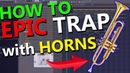 HOW TO HEAVY HYBRID TRAP with HORNS FL Studio Tutorial