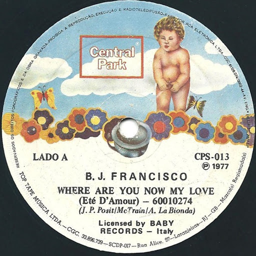 LA BIONDA альбом Where Are You Now My Love / Over the Ocean