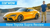 Toyota Supra 2020 in-depth review - tested on road, sideways on track and over the 14 mile sprint!
