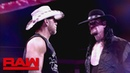 A look back at The Undertaker's chilling confrontation with Shawn Michaels: Raw, Sept. 10, 2018