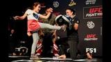 UFC Denver Raquel Pennington Open Workout Highlights - MMA Fighting