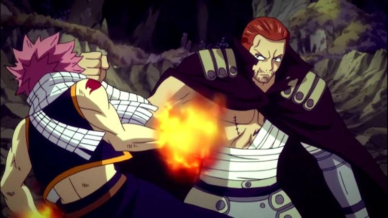 Fairy Tail AMV   Natsu vs Gildarts   Blow Me Away
