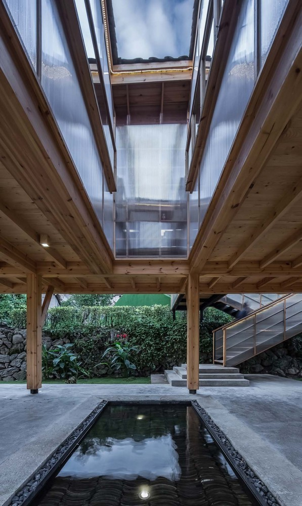 Mountain House in Mist / Shulin Architectural Design