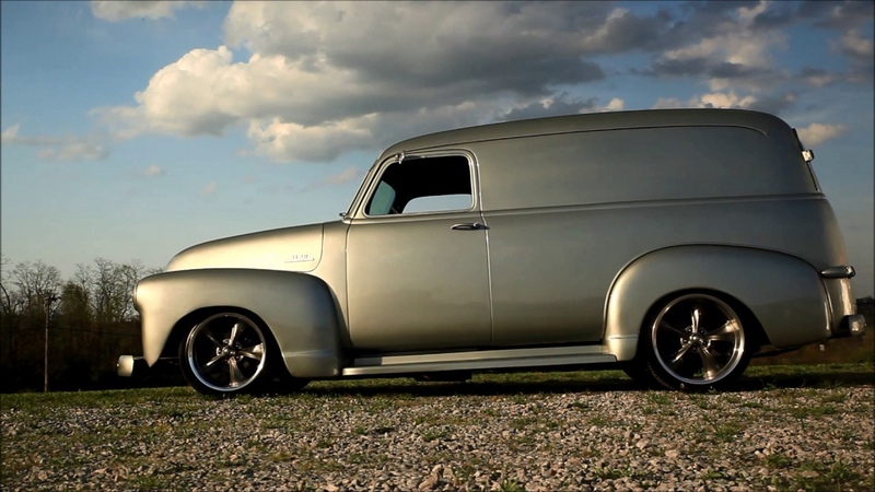 Moneybags Slammed ProTouring Panel Pickup Hot Rat Street Rod Patina Shop Truck FOR SALE!