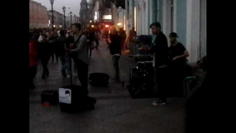 Street band на канале Грибоедова в Петербурге 03 09 2018 смотреть онлайн без регистрации
